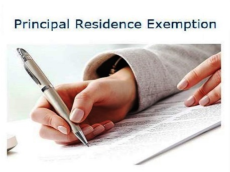 Principal Residence Exemption – 2016 Reporting Requirements