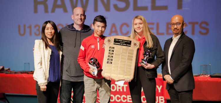 2018 soccer awards Port Moody